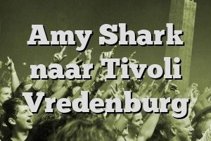 Amy Shark naar Tivoli Vredenburg