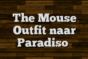 The Mouse Outfit naar Paradiso
