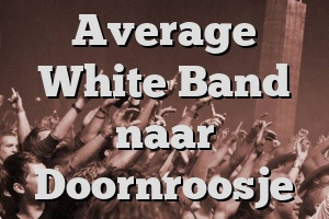 Average White Band naar Doornroosje